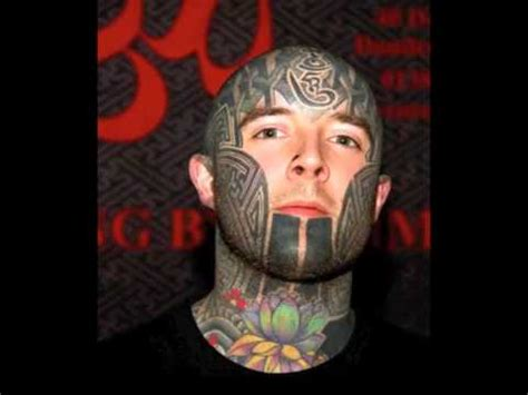 cool face tattoos cool tattoos