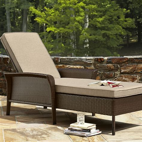 ty pennington style parkside chaise lounge outdoor