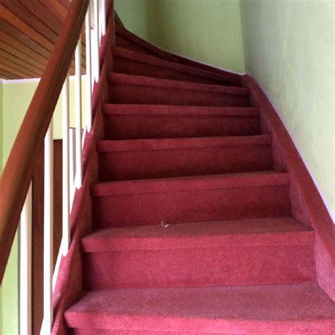 treppe mit teppich treppenrenovierung vorher nachher nr 4 parkett remel in