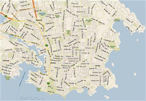 Printable Maps Victoria Bc | maps of victoria bc british columbia maps