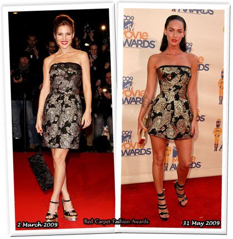 Who Wore Dolce Gabbana Better Carpet Style Awards 2 by Who Wore Dolce Gabbana Better Elsa Pataky Or Megan Fox