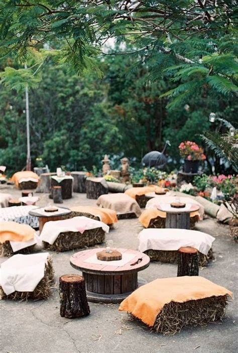 25 best ideas about outdoor wedding seating on outdoor wedding tables hay bale 25 best ideas about outdoor wedding seating on outdoor ceremony outdoor wedding