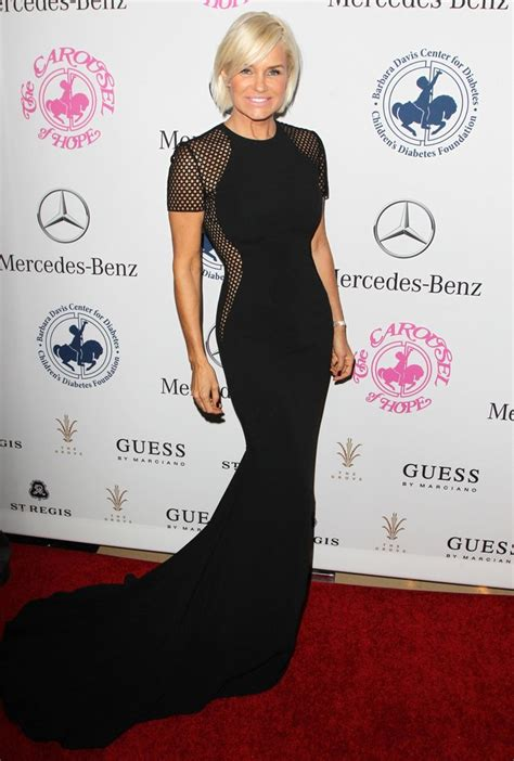 what size canvas yoland foster uses yolanda hadid picture 32 2014 carousel of hope ball