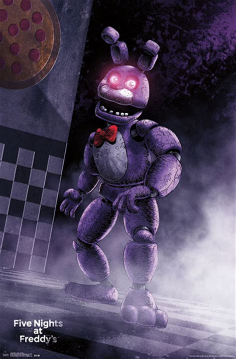 five nights at freddys bonnie by wolfdomo on deviantart five nights at freddy s posters thinkgeek
