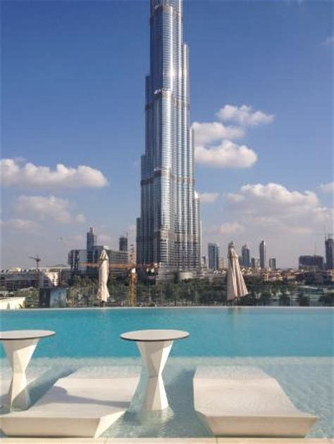 Luxury Dining Rooms by By The Pool With View Of Burj Khalifa Picture Of Sofitel