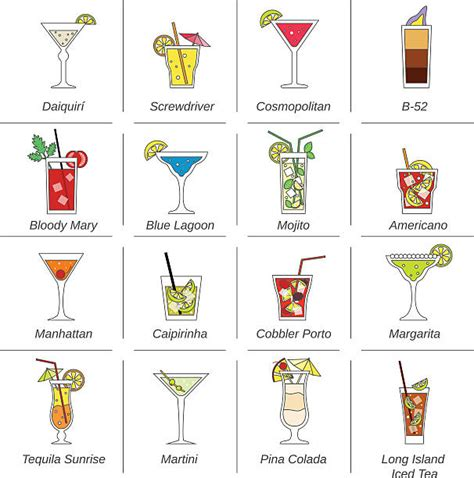 manhattan drink illustration manhattan drink clip vector images illustrations