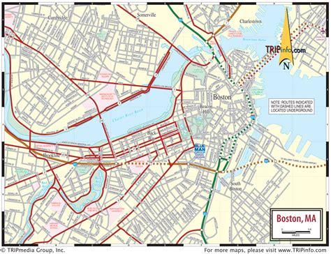 map of boston ma map boston pdf