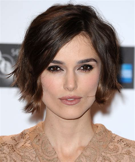 short bob hairstyles keira knightley keira knightley short haircut front and back short