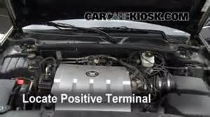 How To Jumpstart A 2000 Cadillac Open How To 2000 2005 Cadillac 2004