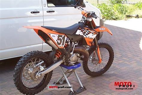 2007 Ktm 125 Sx Specs Ktm 125 Sx 2007 Specs And Photos