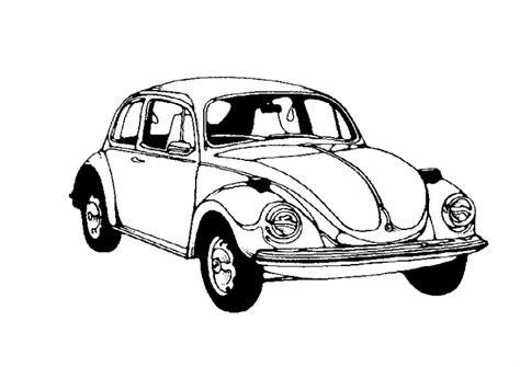 vw car coloring page printable vw bug coloring page coloringpagebook com