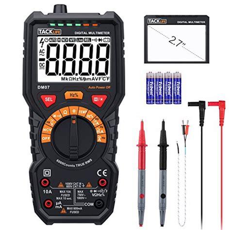Tespen Digital Ac Dc Stanley Digital Voltage Tester Stanley multimeter tacklife dm07 digital multi tester true rms 6000 counts auto ranging meter for ac dc