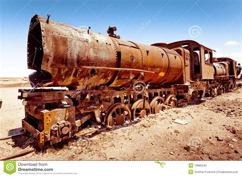 rusty train rusty old steam train stock photo image 13685240