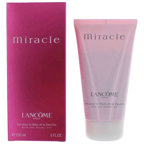 Lancome Miracle Shower Gel tresor by lancome 5 oz perfumed shower gel for