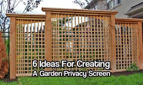 Privacy Garden Screening Ideas 6 Ideas For Creating A Garden Privacy Screen Shtf Prepping Central