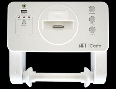 Bathroom Radio With Ipod Dock Icarta Ipod Stereo Dock And Bath Tissue