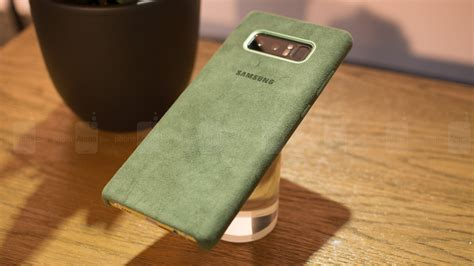 Cover Samsung Galaxy Note 8 official samsung galaxy note 8 alcantara on phonearena reviews