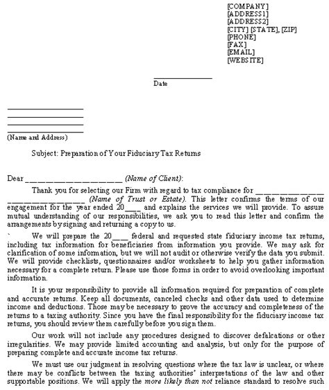 10 best images of accounting engagement agreement template