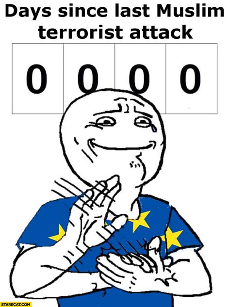 Not Since The Accident Meme - reset the counter german gunman was muslim iranian not