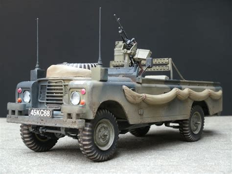 land rover italeri land rover 109 lwb pick up with equipment finescale