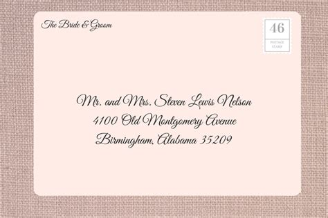 Wedding Invitations Addressing by How To Address Wedding Invitations Southern Living