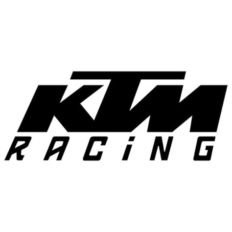Ktm Racing Auto by Ktm Racing Decal