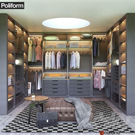 Poliform Walk In Closet by 3d Models Wardrobe Display Cabinets Poliform