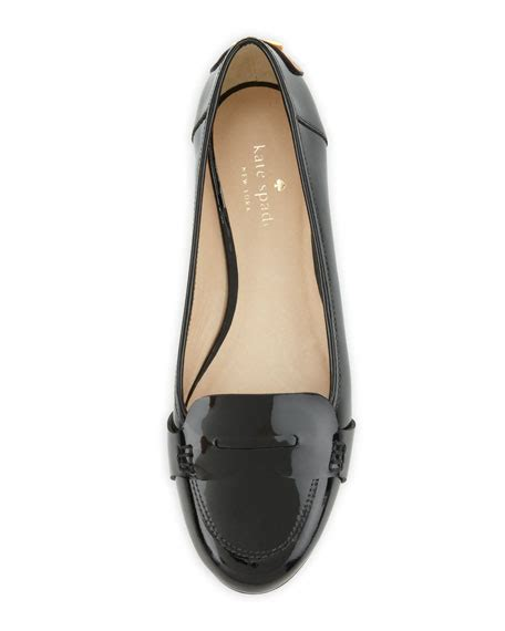 kate spade loafers kate spade new york patent loafer black