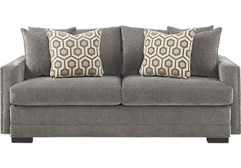 698 00 montecito granite dark gray apartment sofa
