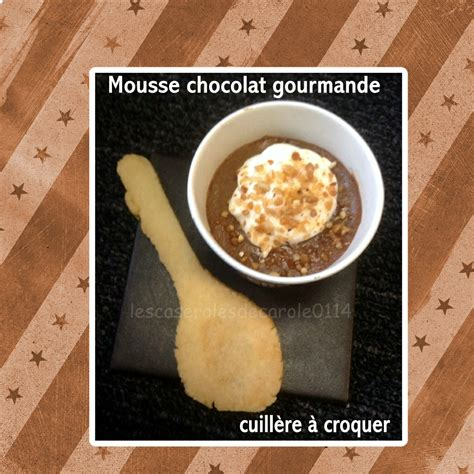 mousse au chocolat cuill 232 re 224 croquer dessert simple gourmand blogs de cuisine