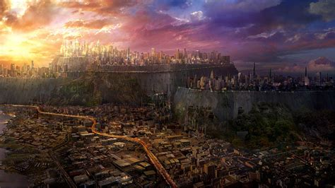 wallpaper abyss city fantasy city wallpapers wallpaper cave