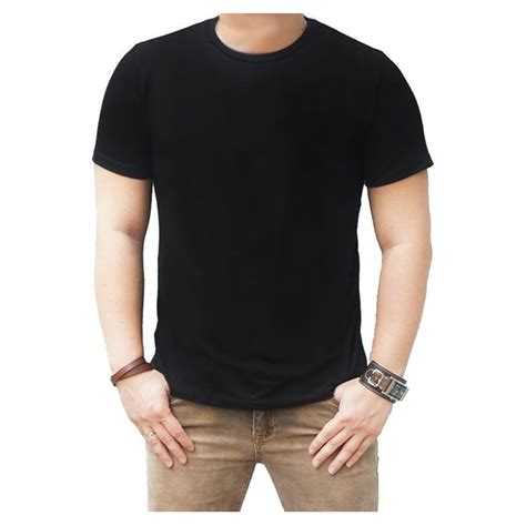 Kaos Pria Cotton On jual kaos polos hitam puth merah navy cotton combed 30s