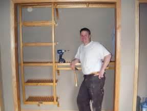 build your own closet shelves