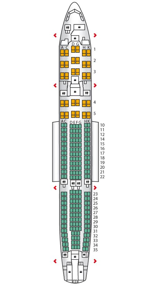 a330 seating us airways airbus jet seating chart