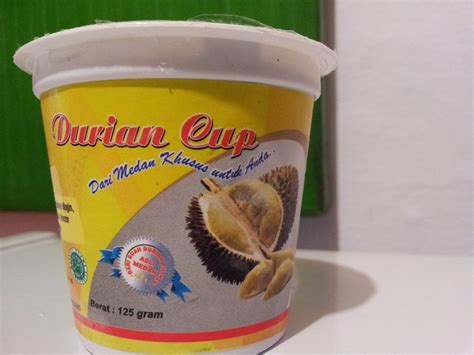 Durian Kupas By Bia Shop durian cup it s buah