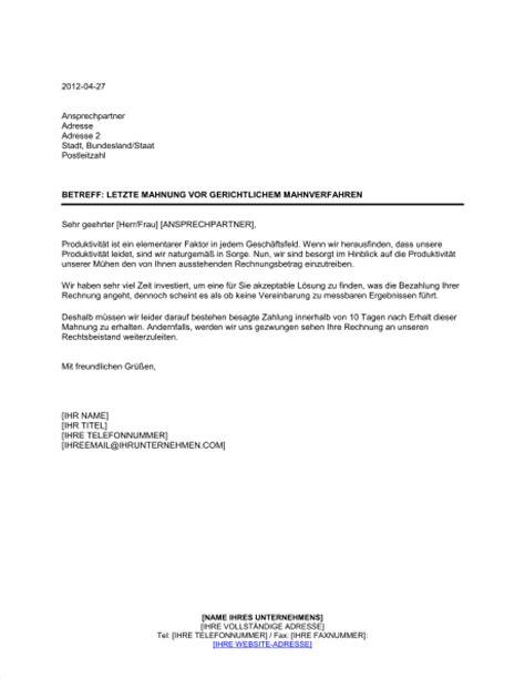 Mahnung Muster Zahlungsverzug Mahnung Fr Freiberufler Vorlage Muster Mahnung Vorlage Fr Das Dritte Schreiben Muster