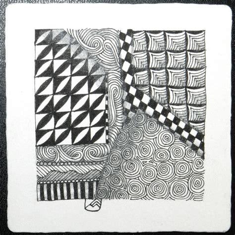 zentangle pattern sez zentangle 174 crafthatchery