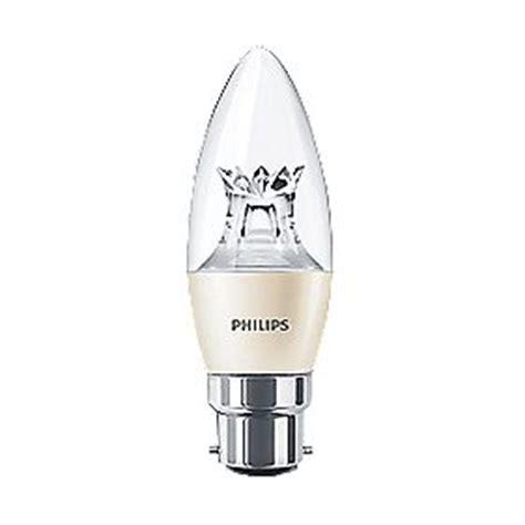 philips candle led light bulb bc 6w light bulbs screwfix