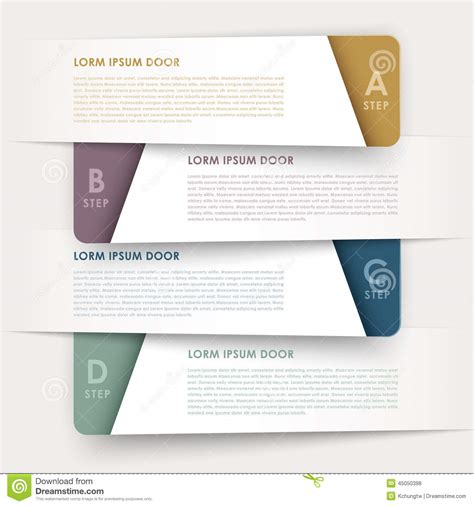 modern design elements modern design banners template infographic elements stock
