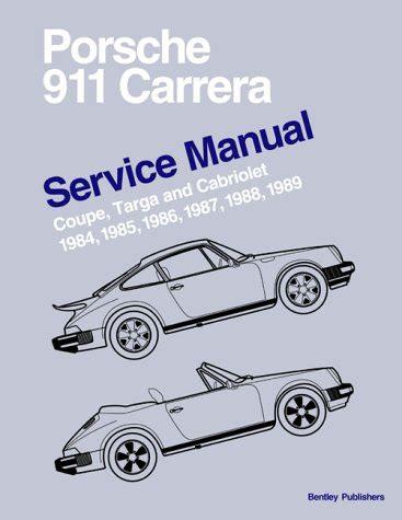 service manuals schematics 1986 porsche 911 instrument cluster porsche 911 3 2 carrera the last of the evolution trasporti e meccanica panorama auto