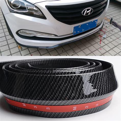 Plat No Universal 2017 List Polos rubber universal type car front lip spoiler front bumper