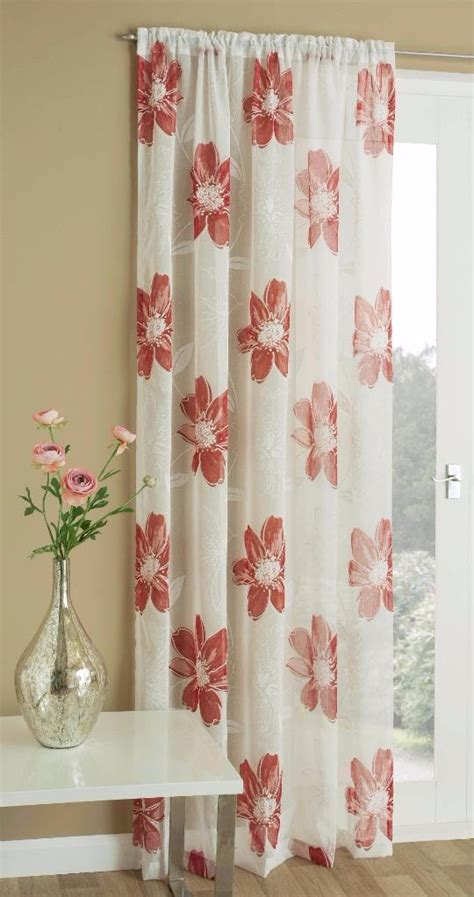 peony curtains peony white linen like sheer voile curtain panel grey