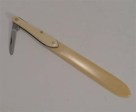 antique pen knife antique ivory letter opener with pen knife c 1880 433977