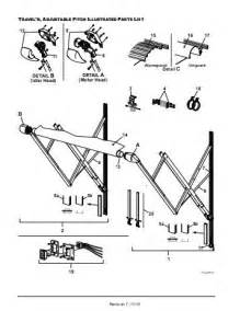 rv awning parts diagram wiring source