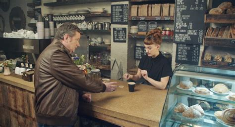 mcdonalds commercial motorcycle actress new mccafe commercial spoofs hipster coffee culture lol