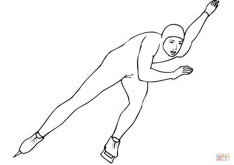 Speed Skating Coloring Page Free Printable Coloring Pages Coloring Pages Skating