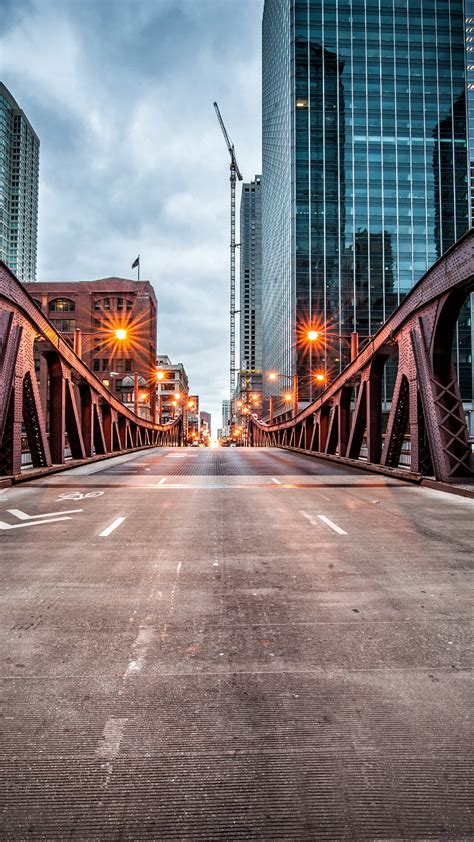 wallpaper clark street bridge chicago usa travel tourism travel