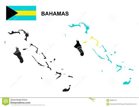 bahamas map coloring page bahamas clipart bahamas map clipart pencil and in color