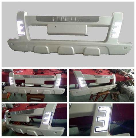 Bumper Depan Toyota Hilux Vigo tahan lama abs led front car bumper guard untuk toyota