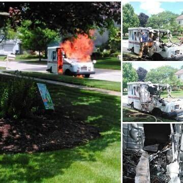 ohio llv goes up in flames   postalnews.com